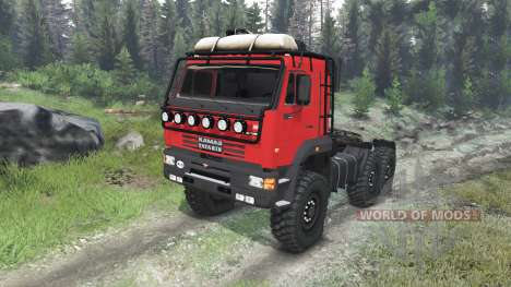 KamAZ-65221 [03.03.16] for Spin Tires