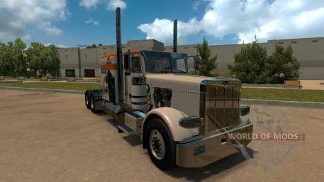 T-D-S Alien vs Predator Skin for Peterbilt 389 for American Truck Simulator
