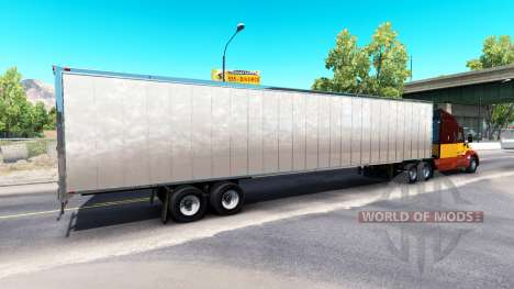 Skin Dirty Mud on the trailer for American Truck Simulator