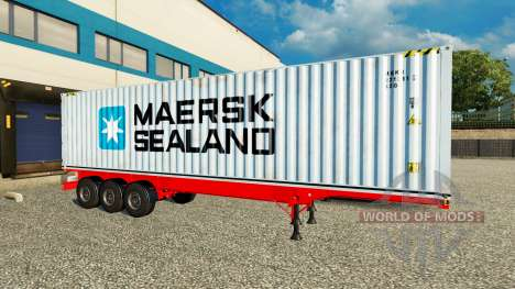 The Semi-Trailer Maersk Sealand for Euro Truck Simulator 2