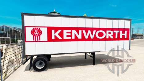 Skins for trailers for American Truck Simulator