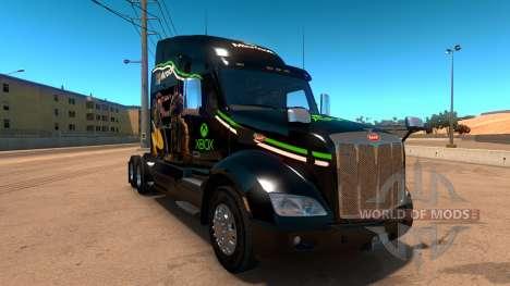 Xbox skin for Peterbilt 579 for American Truck Simulator