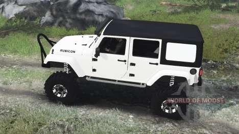 Jeep Wrangler Rubicon White [03.03.16] for Spin Tires