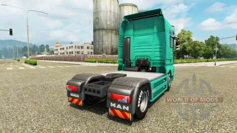 Skin J. Simmerer on the truck MAN for Euro Truck Simulator 2