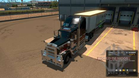 New layout unloading Unload Symbol V 1.1 Mod for American Truck Simulator