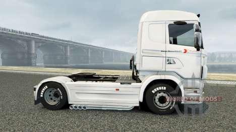 Skin Klaus Bosselmann for Scania truck for Euro Truck Simulator 2