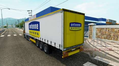 Semi-Antenne Bayern for Euro Truck Simulator 2