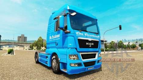 Carstensen skin for MAN truck for Euro Truck Simulator 2