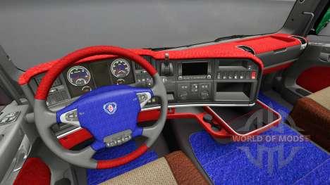 Interior from Scania Leda for Euro Truck Simulator 2