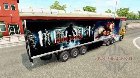 Trailer Iron Man 3 for Euro Truck Simulator 2