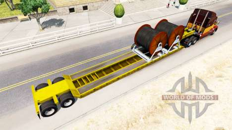 Low sweep with cable for American Truck Simulator