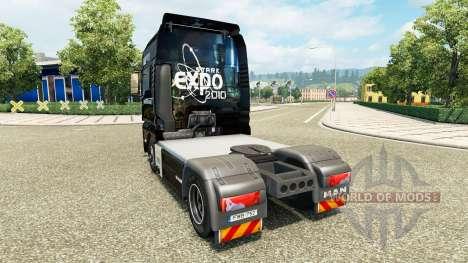 The Stark Expo 2010 skin for MAN trucks for Euro Truck Simulator 2