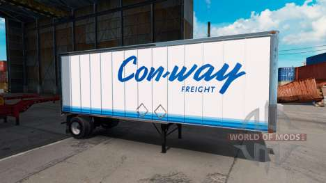 Skin for ConWay trailer for American Truck Simulator