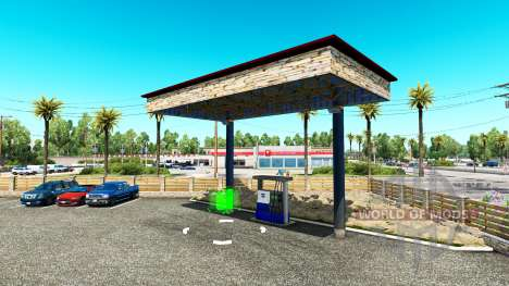 Garages T. L. Europa for American Truck Simulator