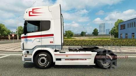 Скин Coppenrath & Wiese v1.2 for Euro Truck Simulator 2