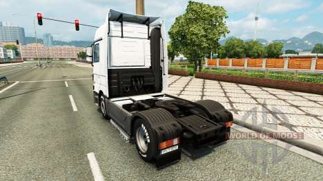 Skin Coppenrath & Wiese on the tractor unit Merc for Euro Truck Simulator 2