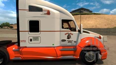 Navajo Express Inc. skin for Kenworth T680 for American Truck Simulator