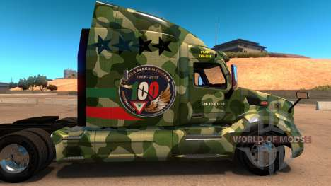 FAM skin for Peterbilt 579 for American Truck Simulator
