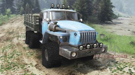 Ural 4320 USSR [03.03.16] for Spin Tires