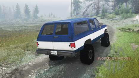 Chevrolet Suburban 1982 [03.03.16] for Spin Tires