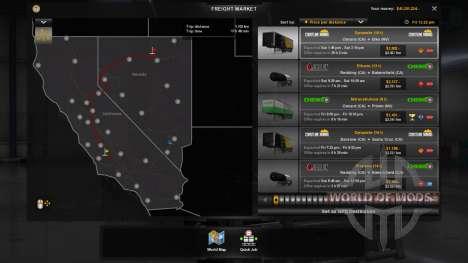 New economy (Klaas Economy Mod - V1.1.11) for American Truck Simulator