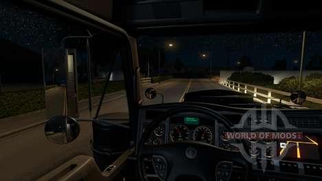 Starry sky for American Truck Simulator
