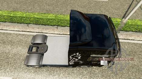 Skin of Piss on the truck MAN for Euro Truck Simulator 2