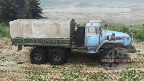 Ural 4320 USSR [03.03.16] for Spin Tires