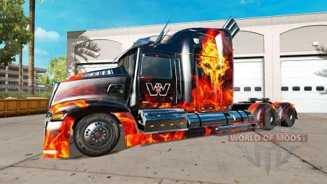 Wester Star 5700 [Optimus Prime][Edit] for American Truck Simulator