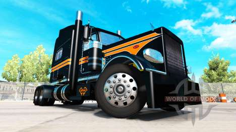 Skin National SRS for the truck Peterbilt 389 for American Truck Simulator