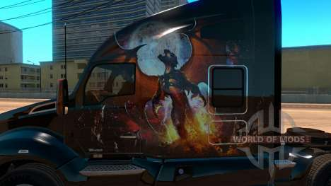 Kenworth T680 Skin Phoenix for American Truck Simulator