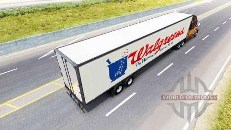 Semi-Walgreens for American Truck Simulator