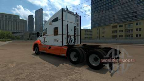Navajo Express Inc. skin for Kenworth T680 for American Truck Simulator