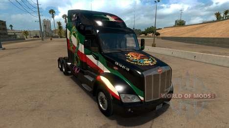 Skin Mexico Peterbilt 579 for American Truck Simulator