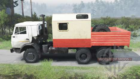 KamAZ 55102 [03.03.16] for Spin Tires