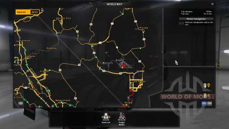 Map Area 51 for American Truck Simulator