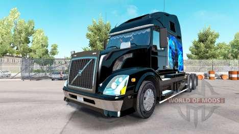 Volvo VNL 670 v1.1 for American Truck Simulator