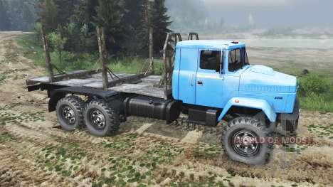 KrAZ-6446 [03.03.16] for Spin Tires