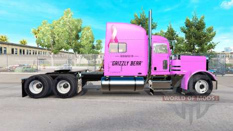 Skin Pooh Veasna tractor Peterbilt 389 for American Truck Simulator