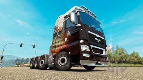 MAN TGX 8x8 for Euro Truck Simulator 2
