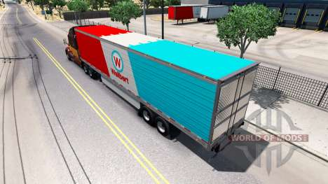Semi-trailer-refrigerator for American Truck Simulator