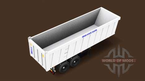 Autonomous semi-truck for American Truck Simulator