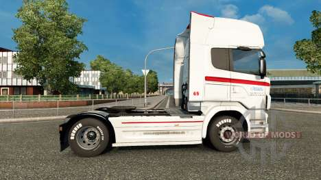Skin Coppenrath & Wiese on the tractor unit Scan for Euro Truck Simulator 2