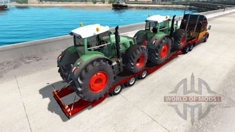 Low sweep Fendt 936 Vario for American Truck Simulator