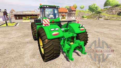 John Deere 9510R v2.0 for Farming Simulator 2013
