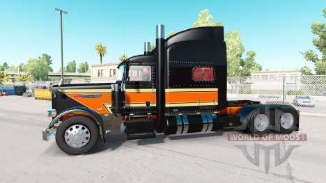 The Flat Top Transport skin for Peterbilt 389 tr for American Truck Simulator