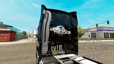 The World of Trucks skin for Volvo truck for Euro Truck Simulator 2