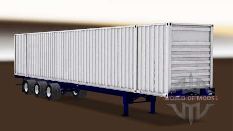 Autonomous semi-container ship for American Truck Simulator