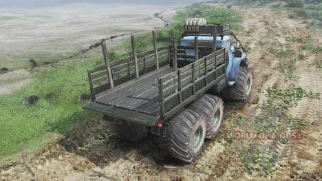 Ural-4320-30 [03.03.16] for Spin Tires