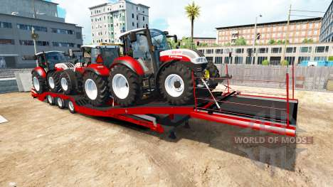 Low sweep Steyr Multi 4115 for American Truck Simulator